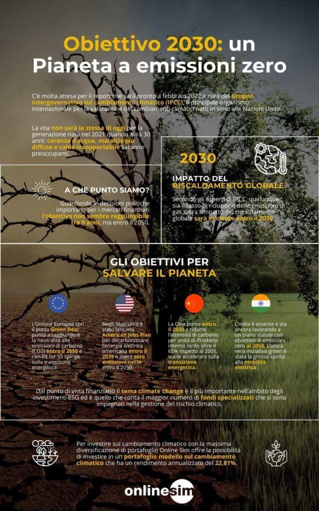 infografica obiettivo 2030